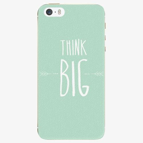 Plastový kryt iSaprio - Think Big - iPhone 5/5S/SE