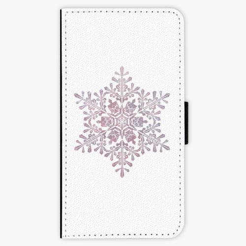 Flipové pouzdro iSaprio - Snow Flake - Samsung Galaxy A5