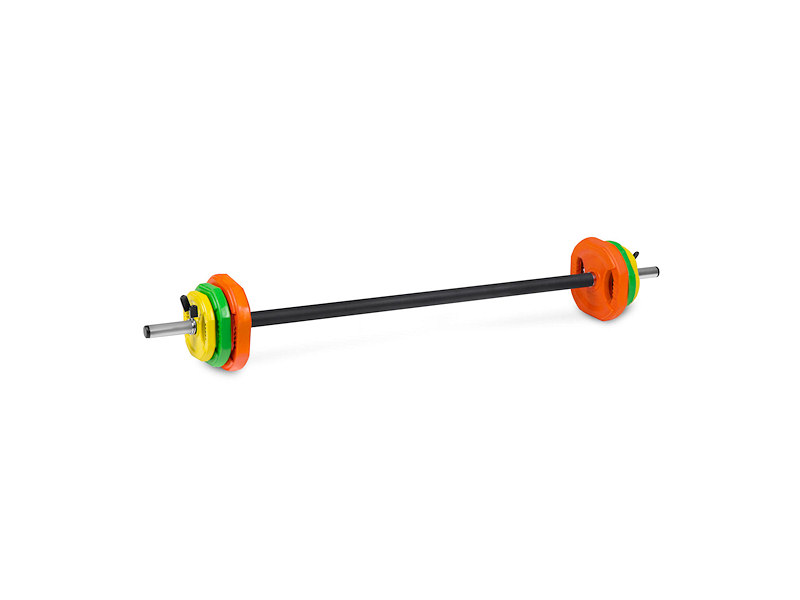 Omni obouruční nakládací činka pumpset 20kg