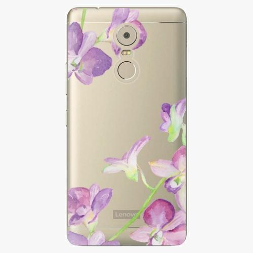 Plastový kryt iSaprio - Purple Orchid - Lenovo K6 Note