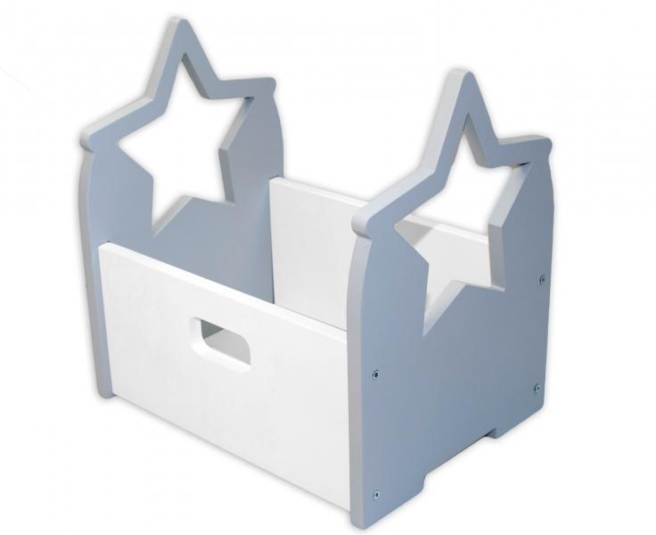 nellys-dreveny-box-na-hracky-hvezdicka-seda