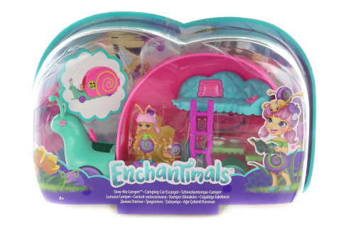 Enchantimals brouček a šnekomobil GCT42