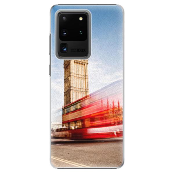 Plastové pouzdro iSaprio - London 01 - Samsung Galaxy S20 Ultra