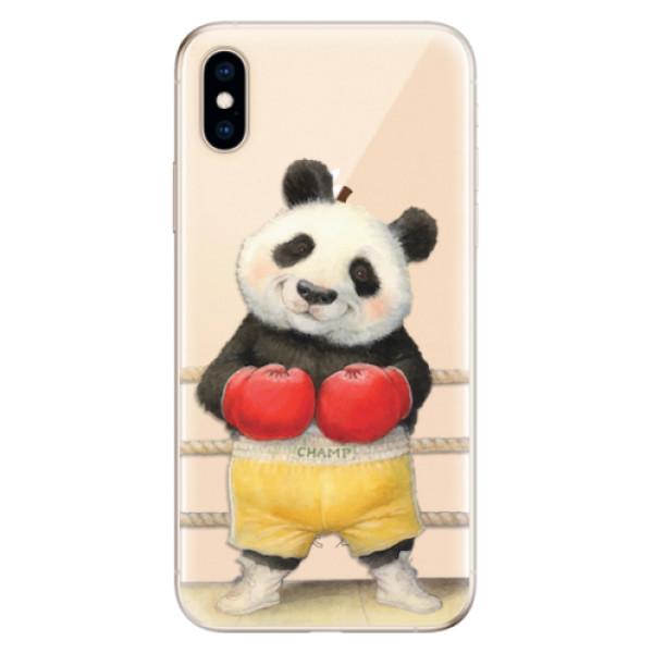 Odolné silikonové pouzdro iSaprio - Champ - iPhone XS