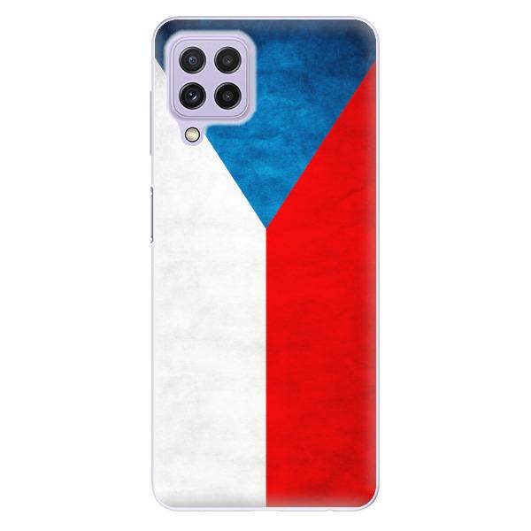 Odolné silikonové pouzdro iSaprio - Czech Flag - Samsung Galaxy A22