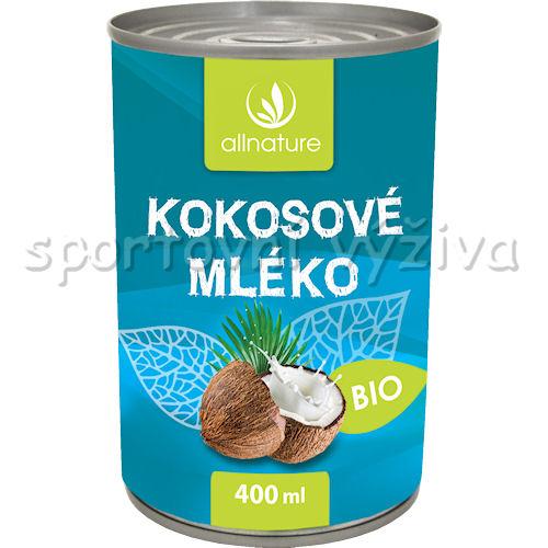 Allnature BIO Kokosové mléko 400ml