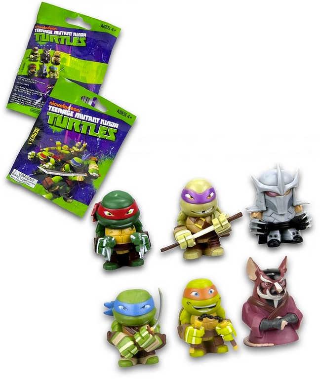 Figurka sběratelská Želvy Ninja s překvapením 6 druhů