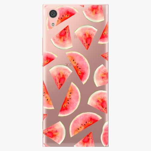 Plastový kryt iSaprio - Melon Pattern 02 - Sony Xperia XA1