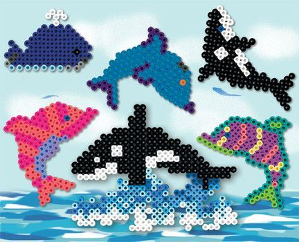 Zažehlovací korálky sada 5000 ks - plastový box