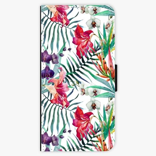 Flipové pouzdro iSaprio - Flower Pattern 03 - Samsung Galaxy A3 2017