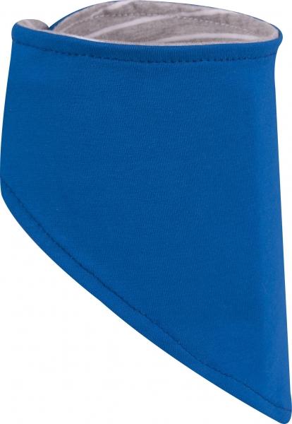 Časdětí Bavlněný dětský šátek na krk proti nachladnutí modrý