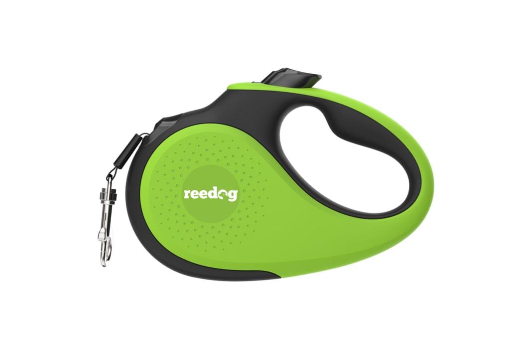 Reedog Senza Premium samonavíjecí vodítko M 25kg / 5m páska / zelené