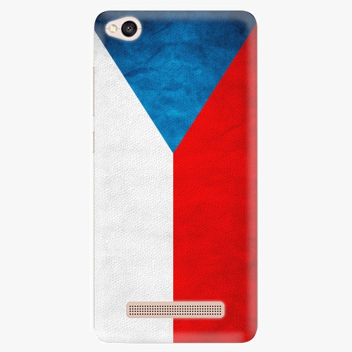 Plastový kryt iSaprio - Czech Flag - Xiaomi Redmi 4A