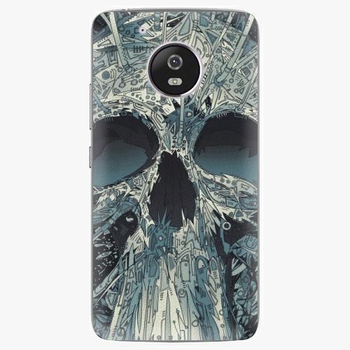 Plastový kryt iSaprio - Abstract Skull - Lenovo Moto G5