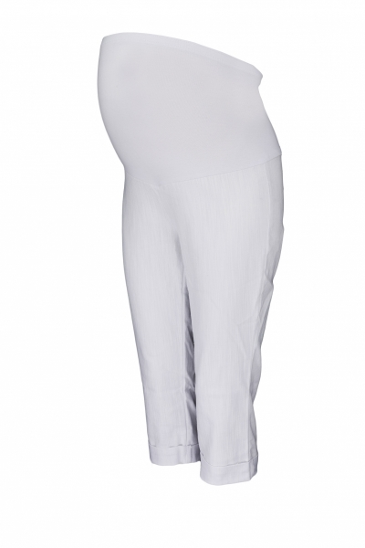 be-maamaa-tehotenske-3-4-kalhoty-s-elastickym-pasem-bile-vel-l-l-40