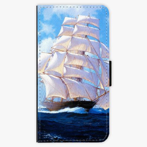 Flipové pouzdro iSaprio - Sailing Boat - Samsung Galaxy J5 2017