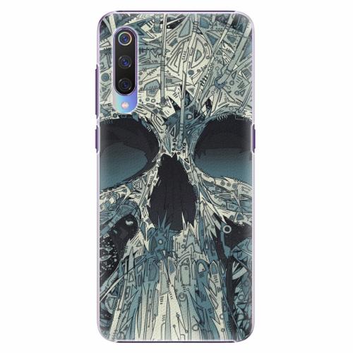 Plastový kryt iSaprio - Abstract Skull - Xiaomi Mi 9