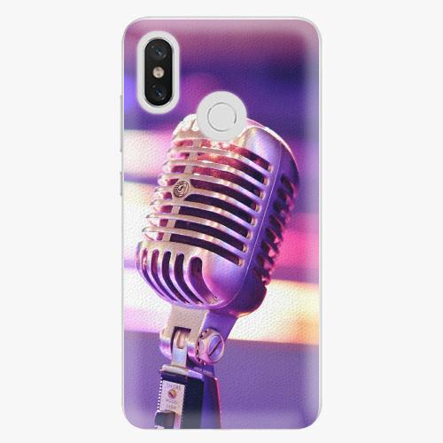 Plastový kryt iSaprio - Vintage Microphone - Xiaomi Mi 8