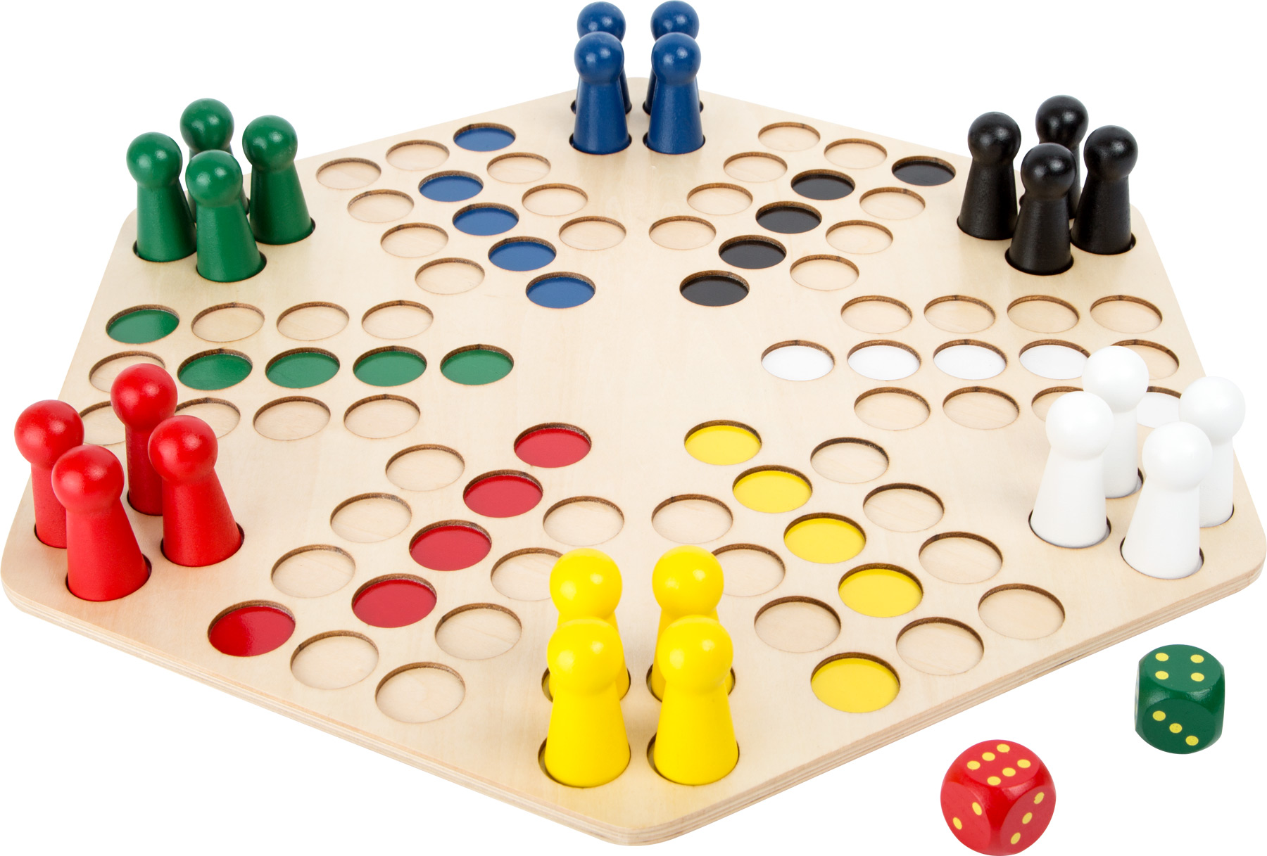 Small Foot Dřevěné člověče nezlob se pro 6 hráčů