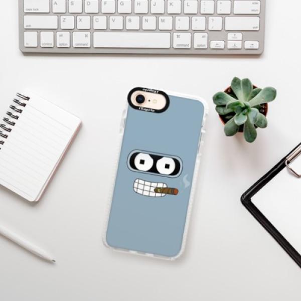 Silikonové pouzdro Bumper iSaprio - Bender - iPhone 8