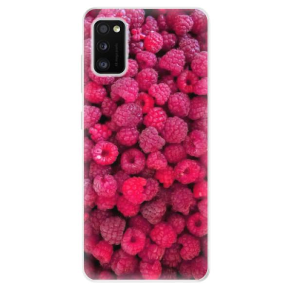 Odolné silikonové pouzdro iSaprio - Raspberry - Samsung Galaxy A41
