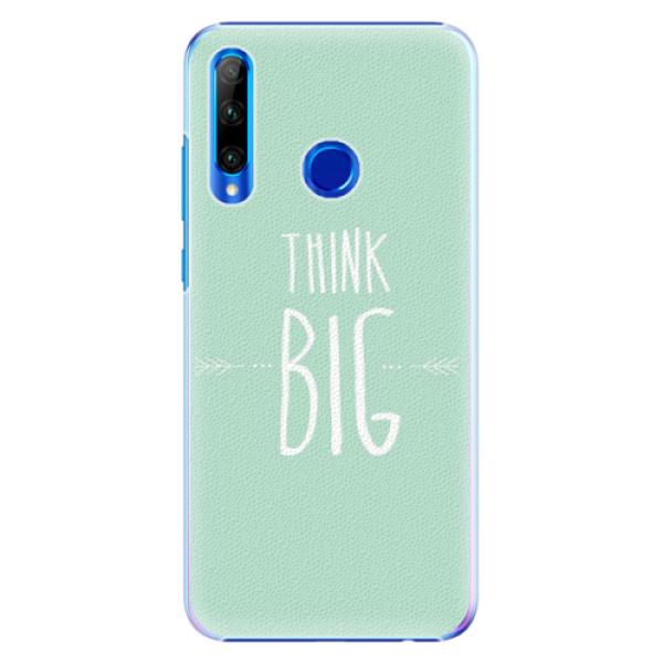 Plastové pouzdro iSaprio - Think Big - Huawei Honor 20 Lite