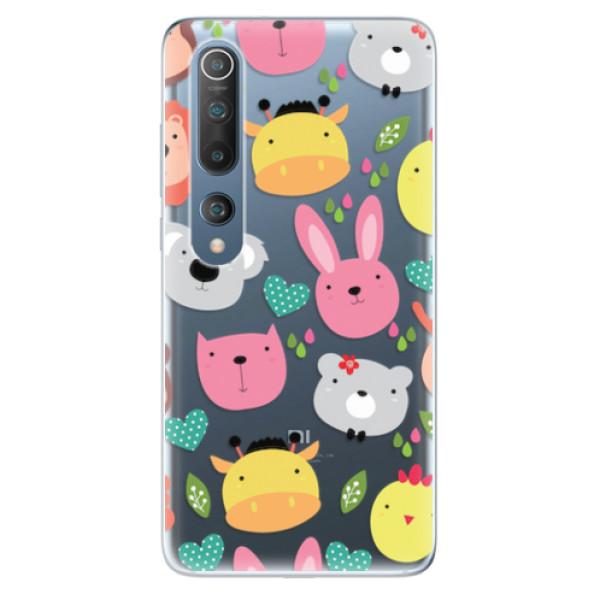 Odolné silikonové pouzdro iSaprio - Animals 01 - Xiaomi Mi 10 / Mi 10 Pro