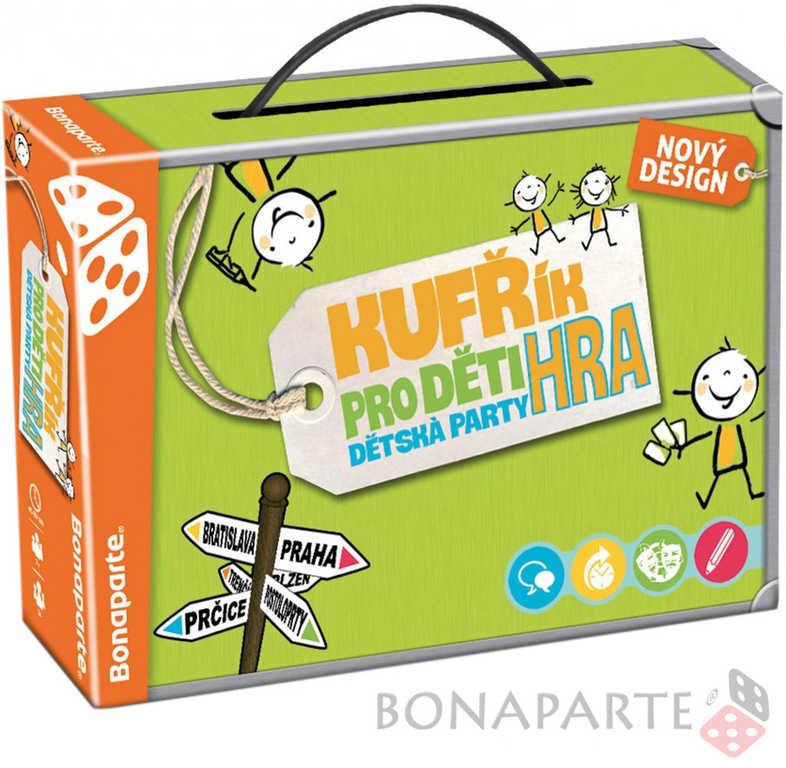 BONAPARTE Dětská party hra Kufřík SPOLEČENSKÉ HRY