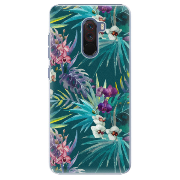 Plastové pouzdro iSaprio - Tropical Blue 01 - Xiaomi Pocophone F1