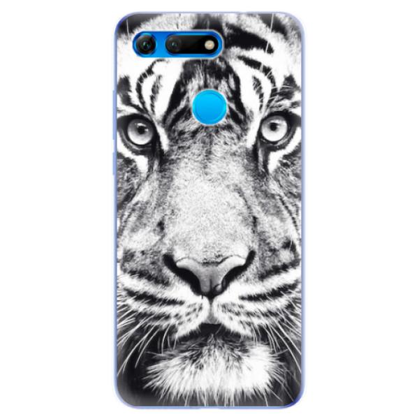 Odolné silikonové pouzdro iSaprio - Tiger Face - Huawei Honor View 20