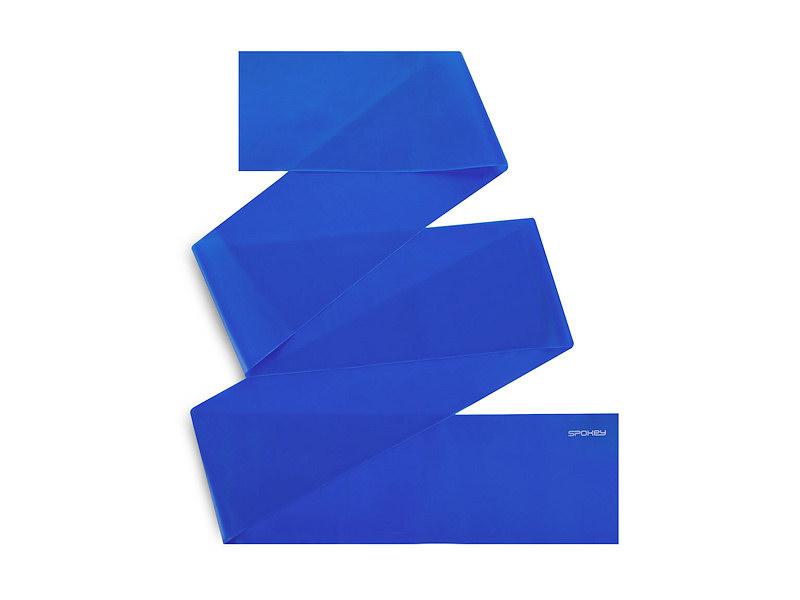 Ribbon II fitness guma modrá hard