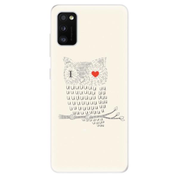 Odolné silikonové pouzdro iSaprio - I Love You 01 - Samsung Galaxy A41