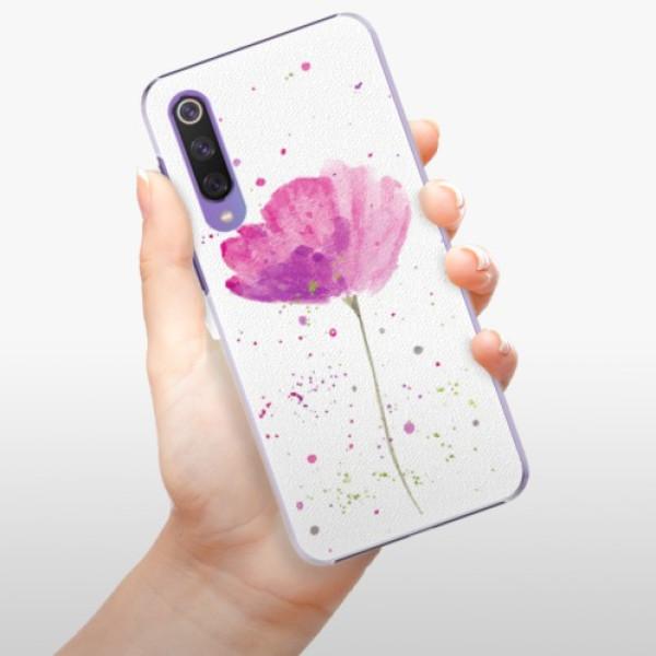 Plastové pouzdro iSaprio - Poppies - Xiaomi Mi 9 SE