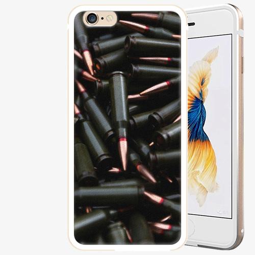 Plastový kryt iSaprio - Black Bullet - iPhone 6 Plus/6S Plus - Gold