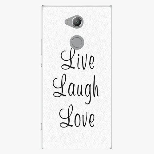 Plastový kryt iSaprio - Live Laugh Love - Sony Xperia XA2 Ultra