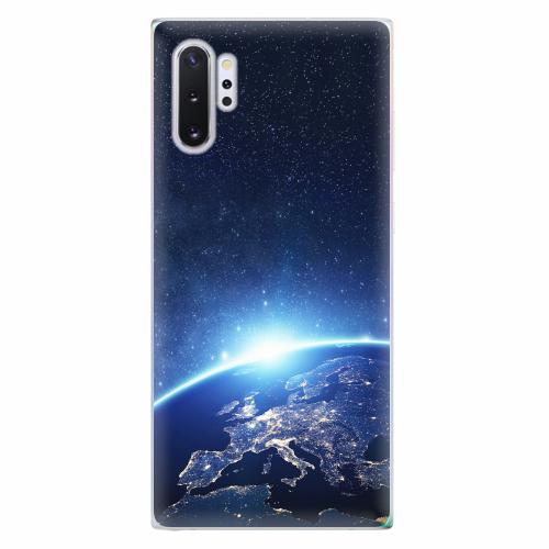 Silikonové pouzdro iSaprio - Earth at Night - Samsung Galaxy Note 10+