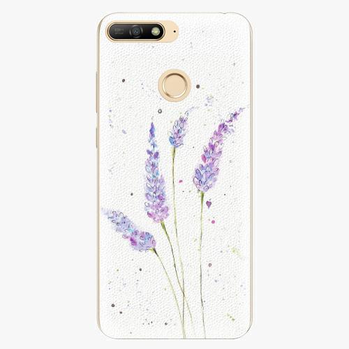 Plastový kryt iSaprio - Lavender - Huawei Y6 Prime 2018