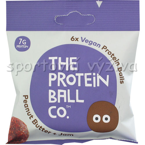 Vegan Protein Balls 45g peanut butter - jam