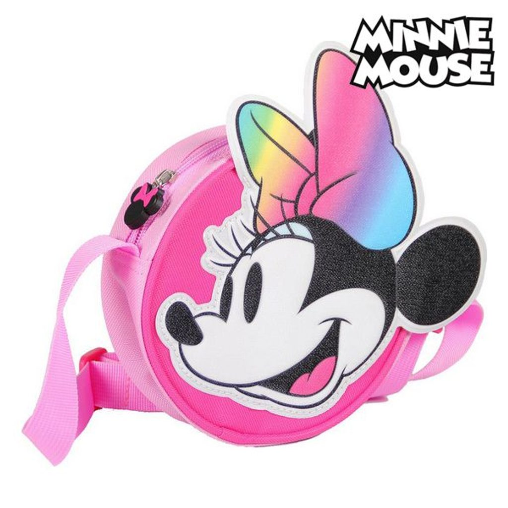 Taška přes rameno 3D Minnie Mouse 72883 Růžový