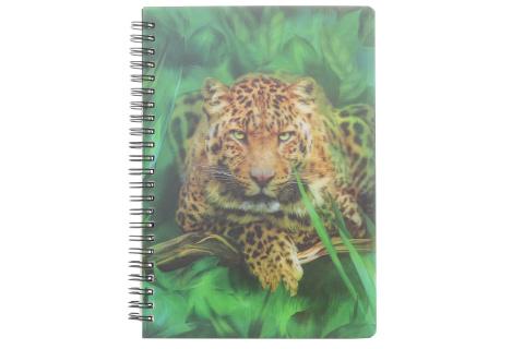 Zápisník A5 leopard