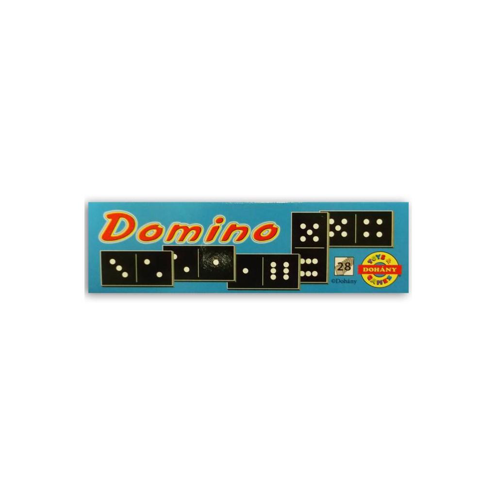 Dětské domino - modrá