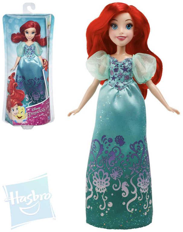 HASBRO Disney Princess Ariel módní panenka 33cm v krabici