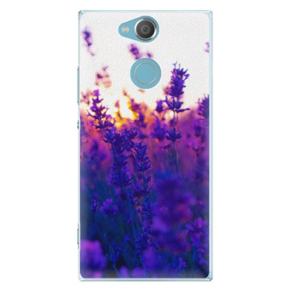 Plastové pouzdro iSaprio - Lavender Field - Sony Xperia XA2