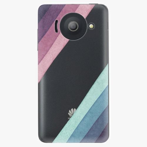 Plastový kryt iSaprio - Glitter Stripes 01 - Huawei Ascend Y300