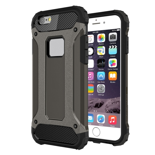 Odolný kryt / pouzdro Spigen Tough Armor Smooth pro iPhone 6 Plus / 6S Plus černý