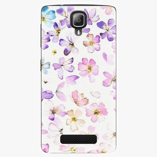 Plastový kryt iSaprio - Wildflowers - Lenovo A1000