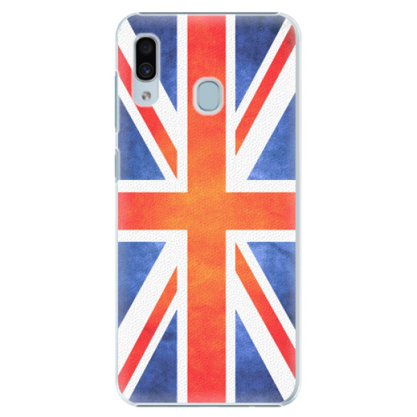 Plastové pouzdro iSaprio - UK Flag - Samsung Galaxy A20