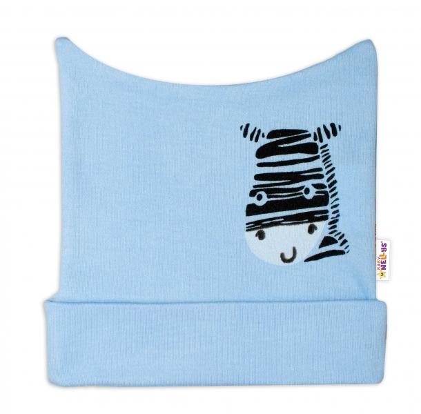 Novorozenecká čepička Baby Nellys, Zebra