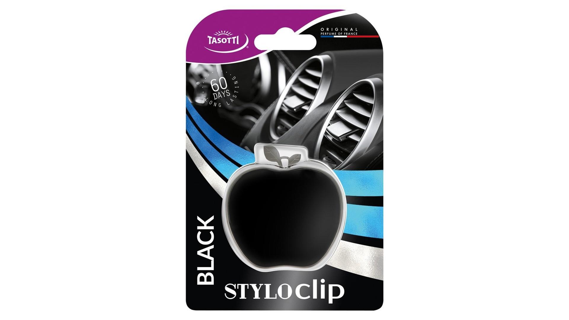 TASOTTI Stylo clip black
