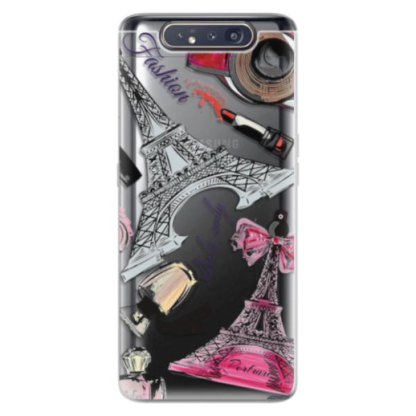 Odolné silikonové pouzdro iSaprio - Fashion pattern 02 - Samsung Galaxy A80